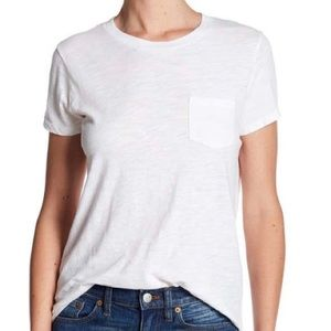 Madewell Whisper Crew Tee | Medium